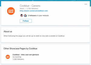 LinkedIn Coolblue Careers