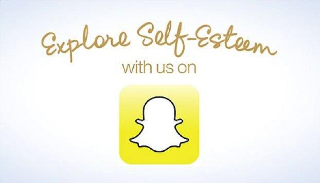 Snapchat door Dove